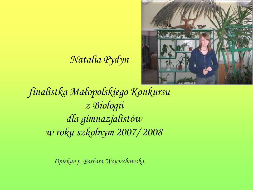 Opiekun p. Barbara Wojciechowska