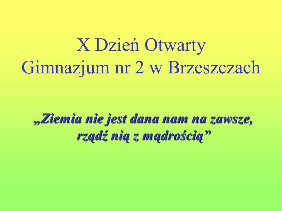 X Dzień Otwarty Gimnazjum nr 2 w Brzeszczach