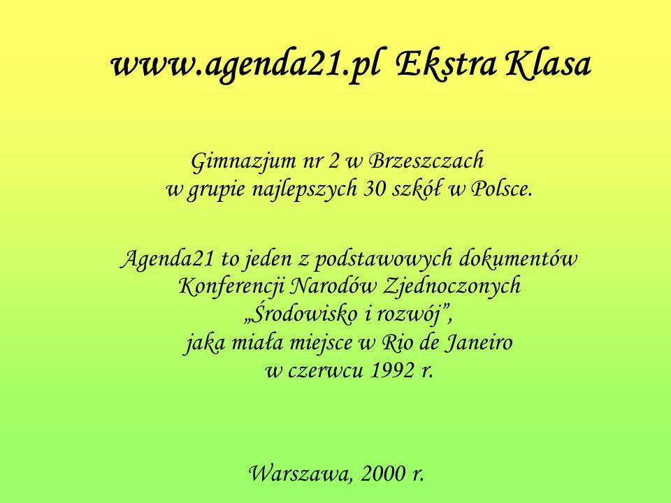 www.agenda21.pl Ekstra Klasa