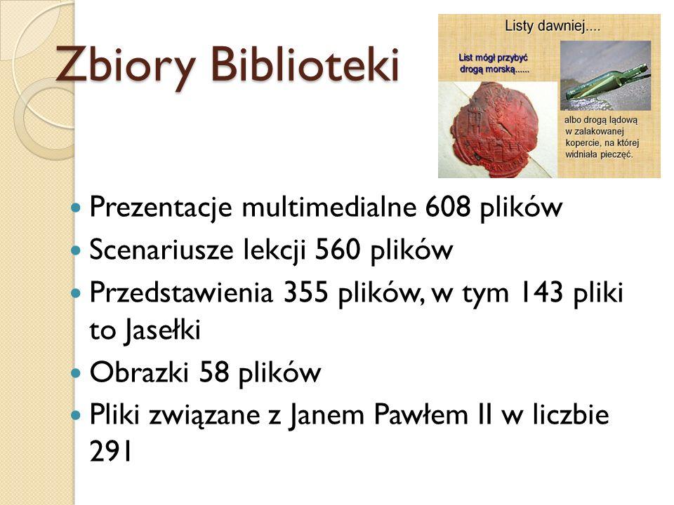 Zbiory Biblioteki Prezentacje multimedialne 608 plików