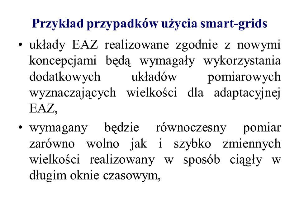 Przykład przypadków użycia smart-grids