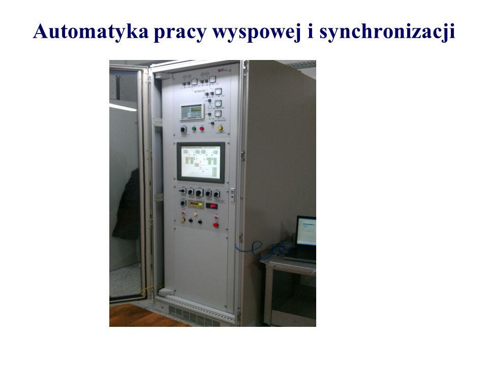 Automatyka pracy wyspowej i synchronizacji
