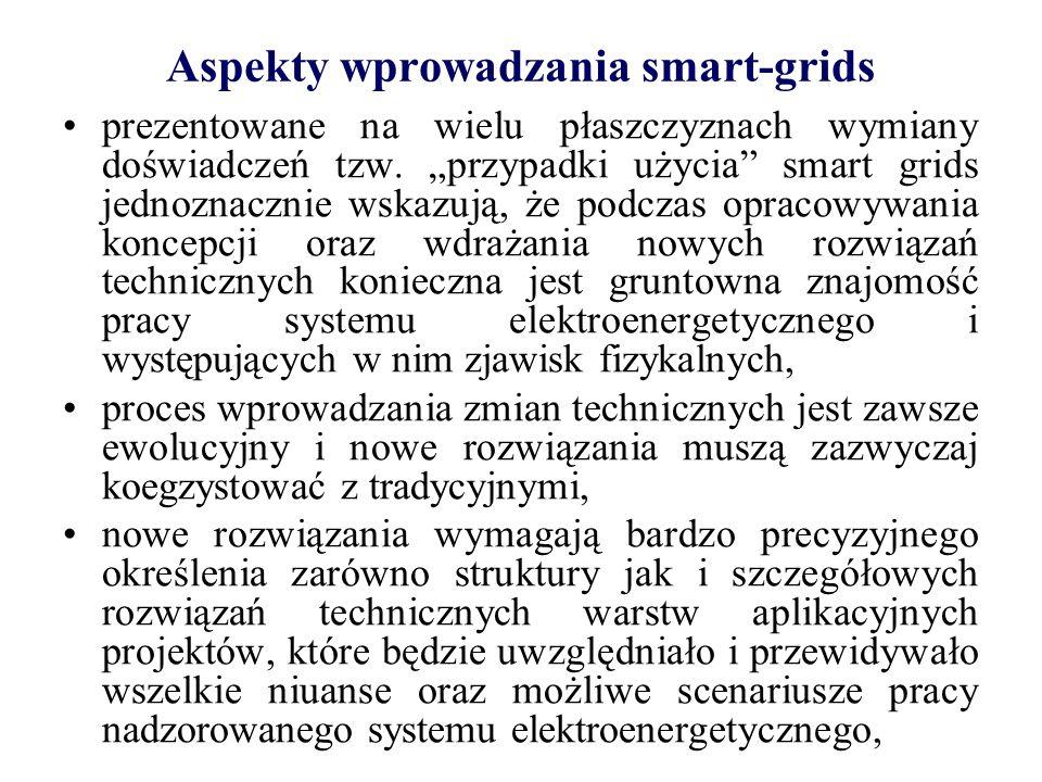 Aspekty wprowadzania smart-grids