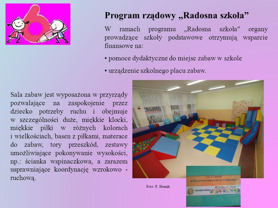 """Program rządowy """"Radosna szkoła"""