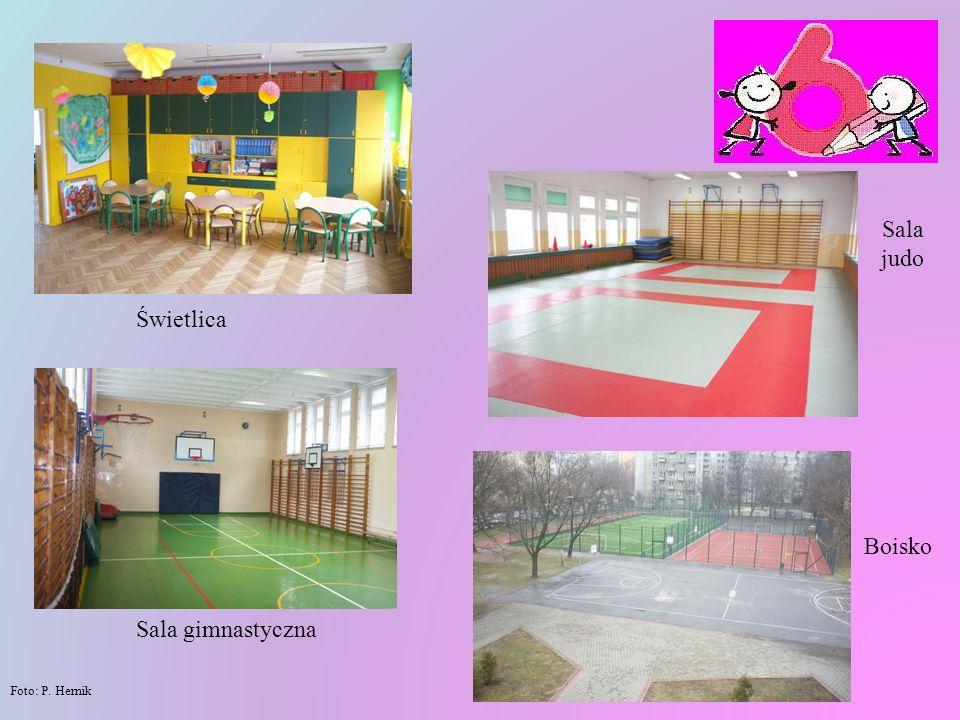 Sala judo Świetlica Boisko Sala gimnastyczna Foto: P. Hernik