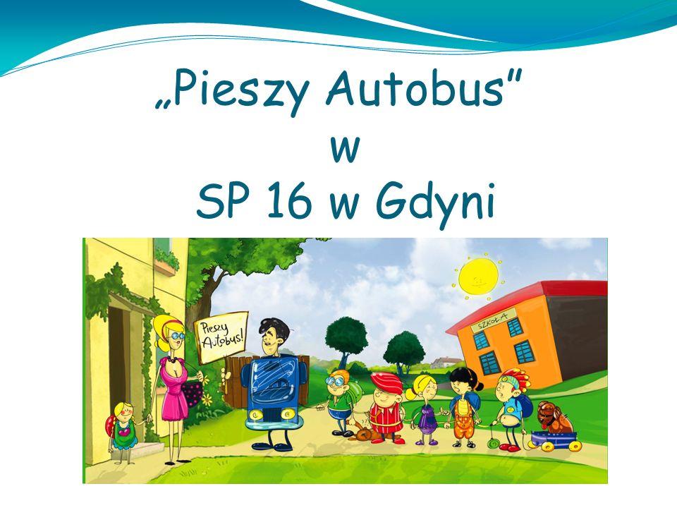 """""""Pieszy Autobus w SP 16 w Gdyni"""