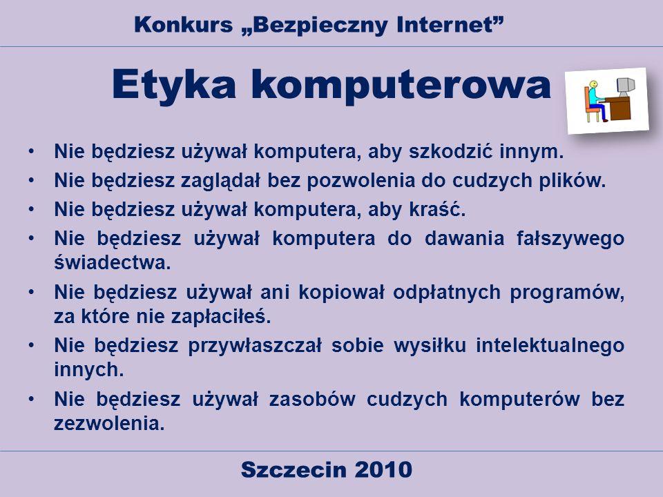 """Konkurs """"Bezpieczny Internet"""