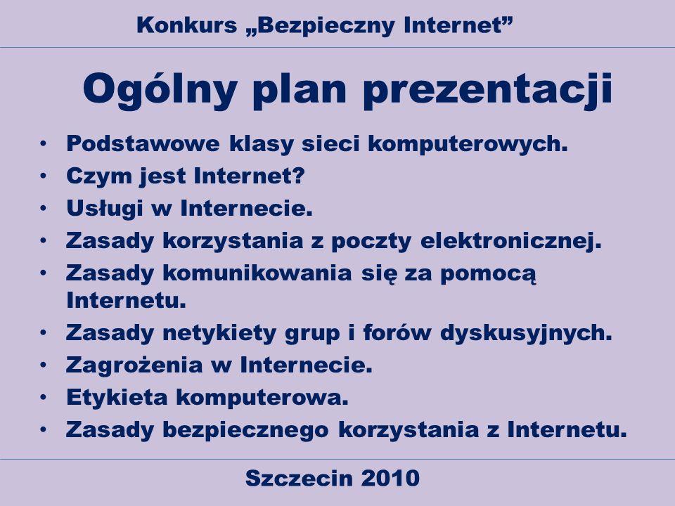 Ogólny plan prezentacji