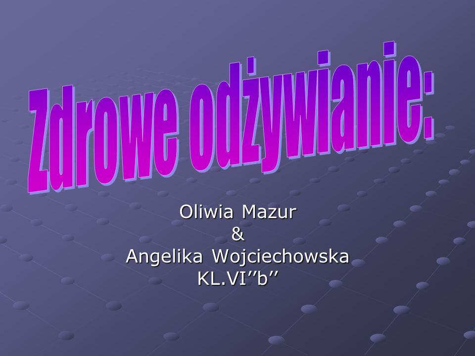 Oliwia Mazur & Angelika Wojciechowska KL.VI''b''