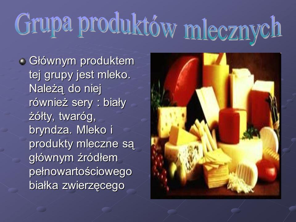 Grupa produktów mlecznych