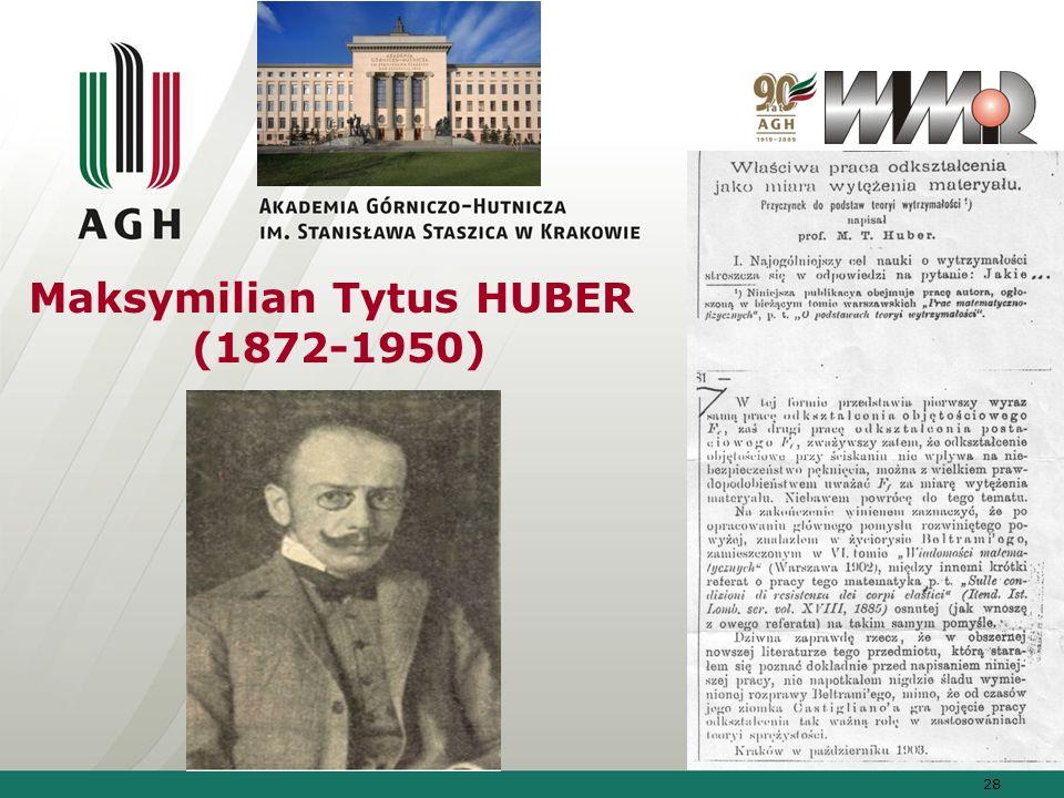 Maksymilian Tytus HUBER (1872-1950)