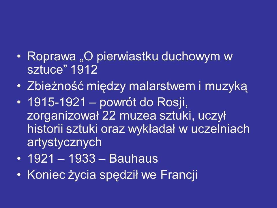 """Roprawa """"O pierwiastku duchowym w sztuce 1912"""