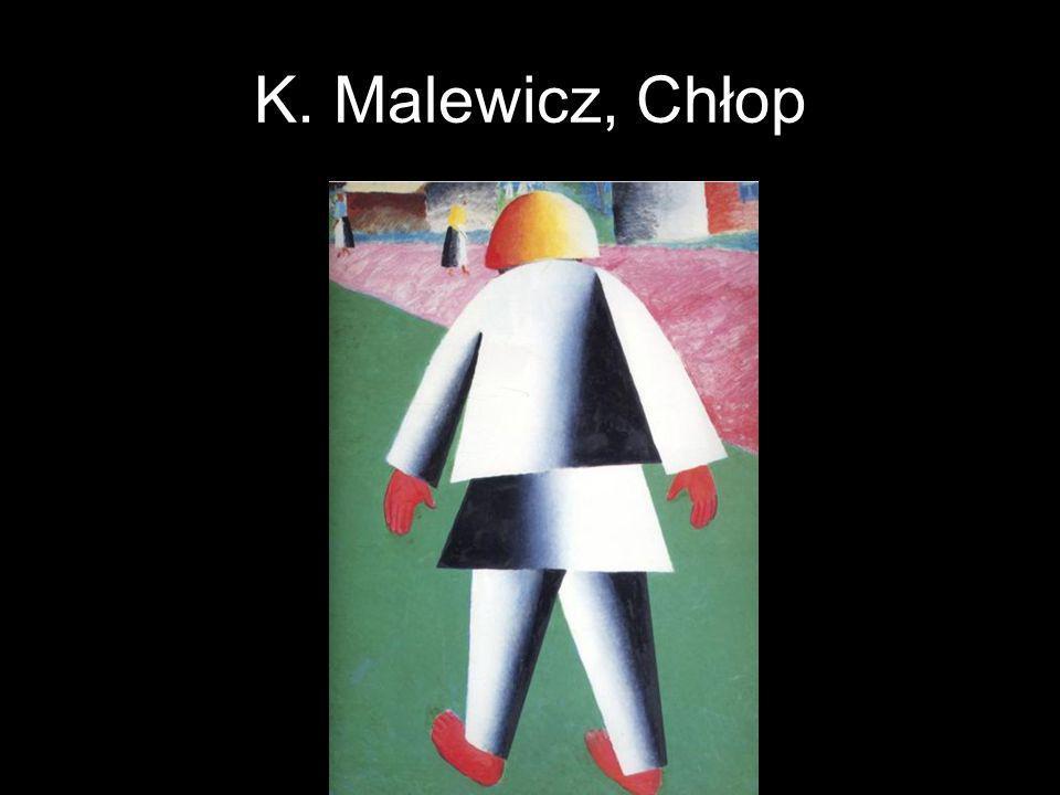 K. Malewicz, Chłop