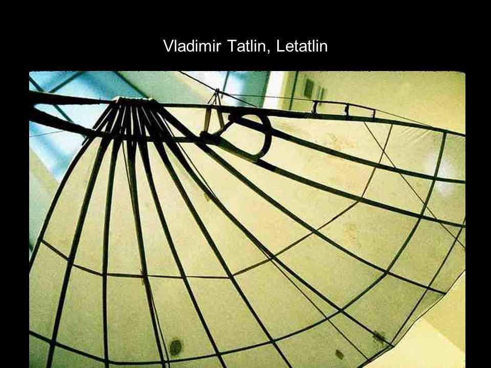Vladimir Tatlin, Letatlin