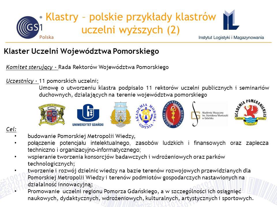 Klastry – polskie przykłady klastrów uczelni wyższych (2)