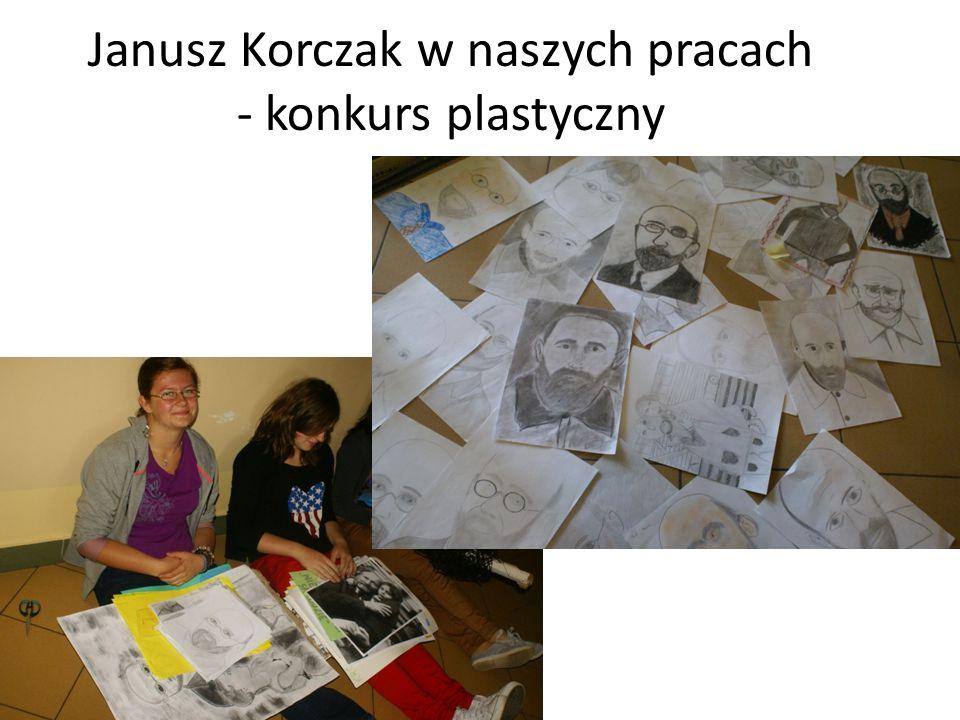 Janusz Korczak w naszych pracach - konkurs plastyczny