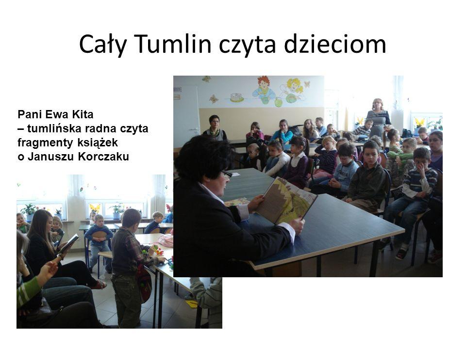 Cały Tumlin czyta dzieciom