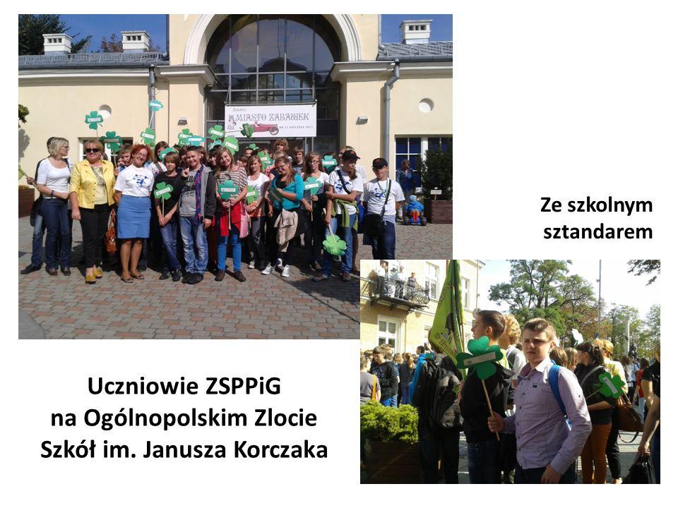 Uczniowie ZSPPiG na Ogólnopolskim Zlocie Szkół im. Janusza Korczaka