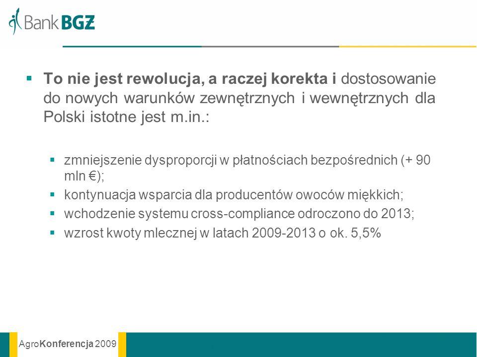 To nie jest rewolucja, a raczej korekta i dostosowanie do nowych warunków zewnętrznych i wewnętrznych dla Polski istotne jest m.in.: