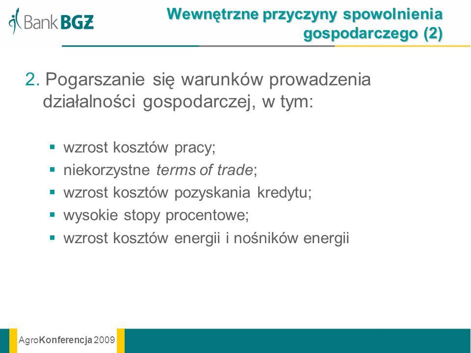 Wewnętrzne przyczyny spowolnienia gospodarczego (2)