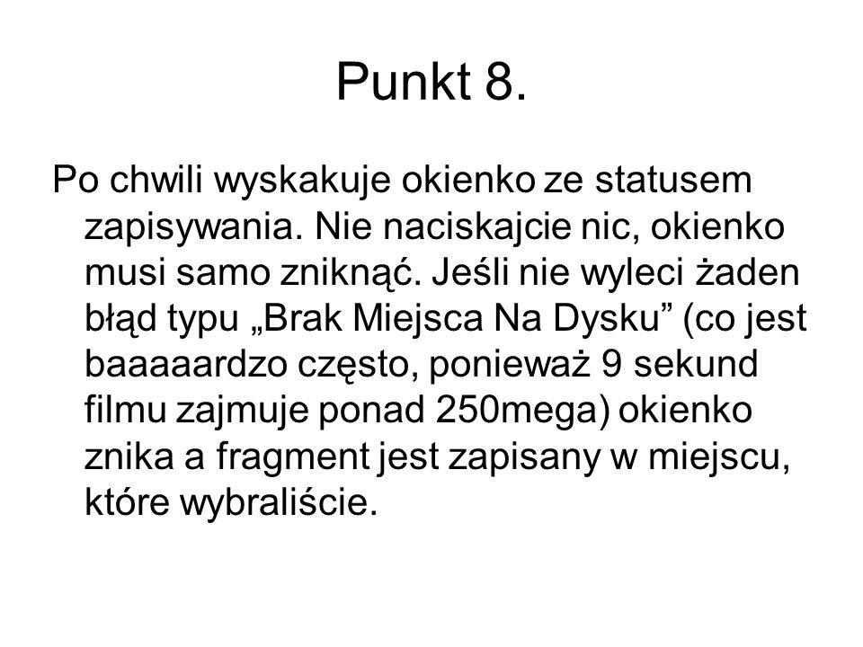 Punkt 8.