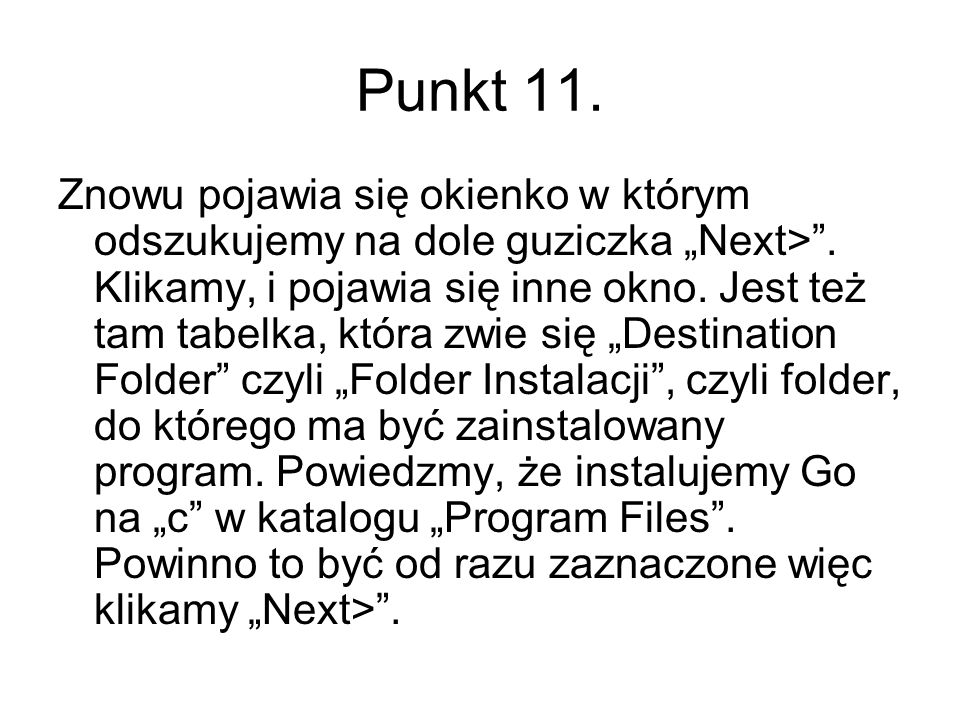 Punkt 11.