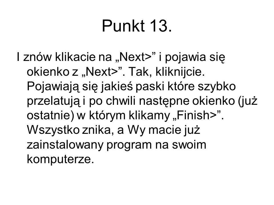 Punkt 13.