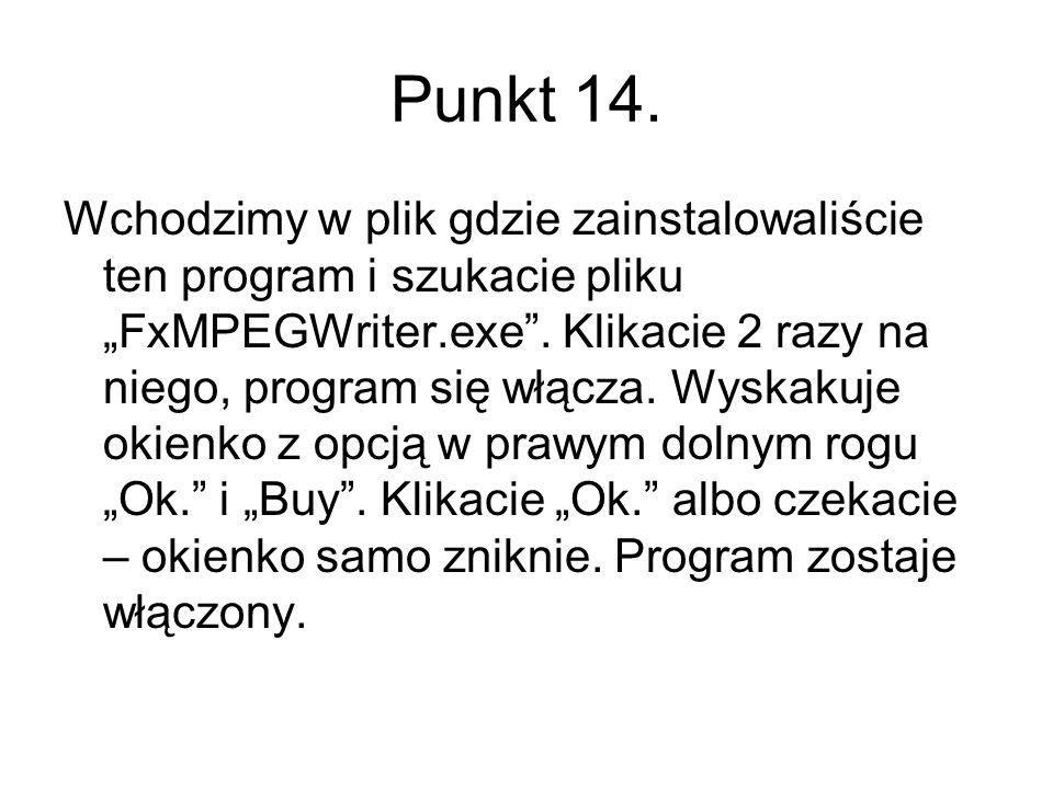 Punkt 14.