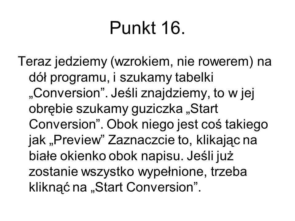 Punkt 16.