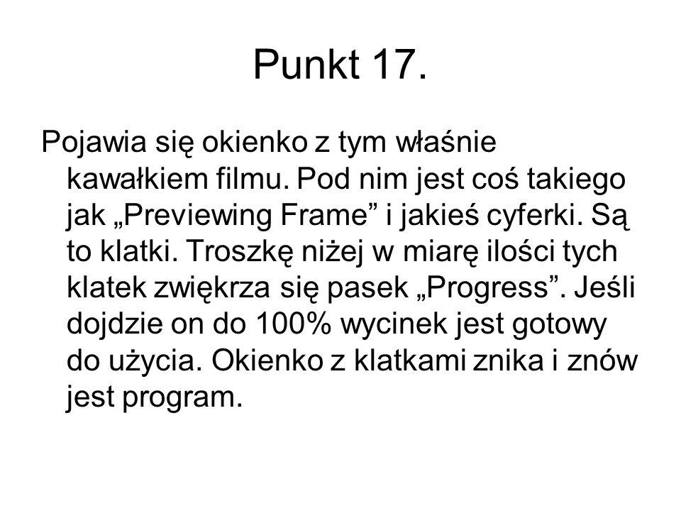 Punkt 17.