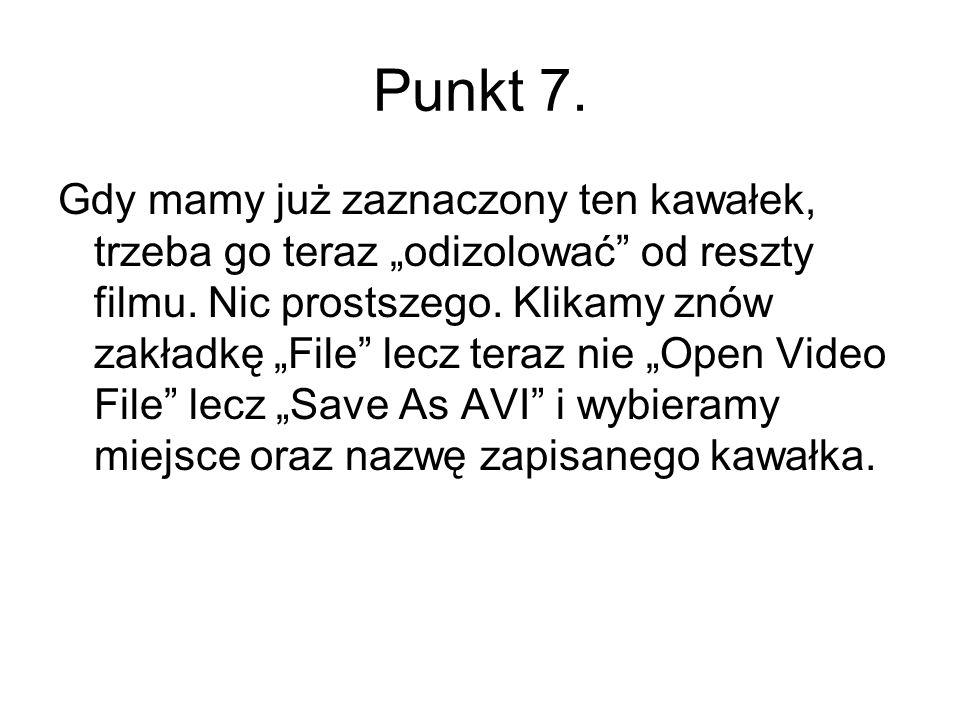 Punkt 7.