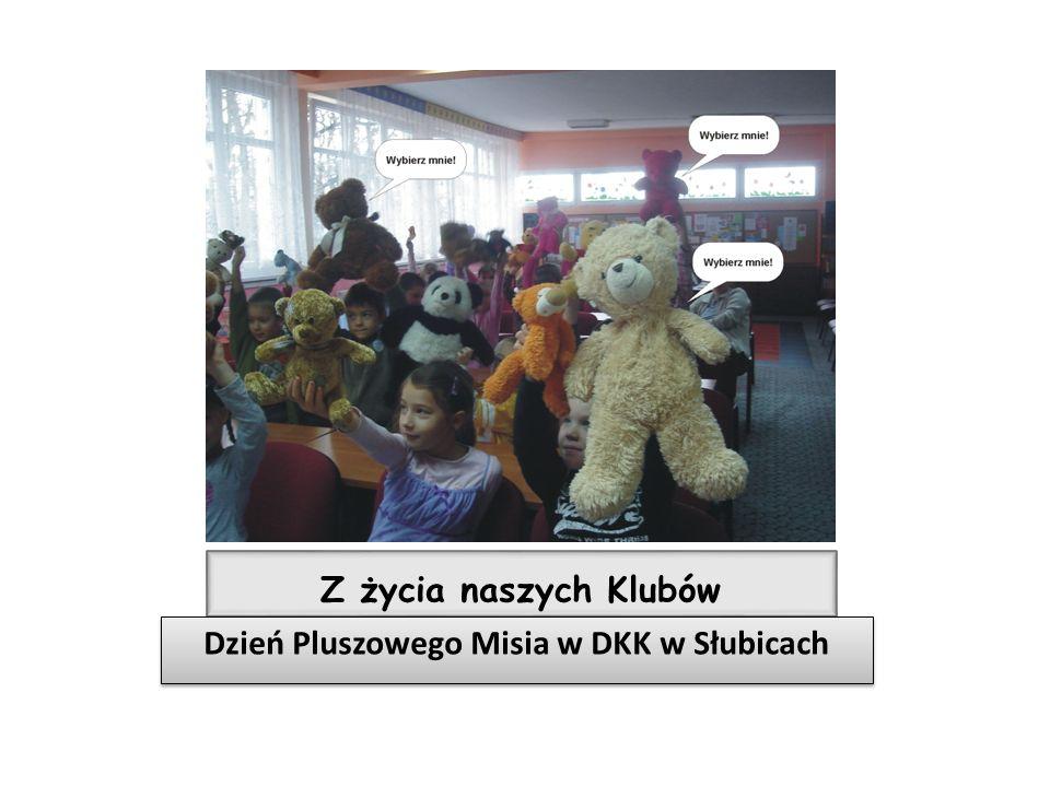 Dzień Pluszowego Misia w DKK w Słubicach