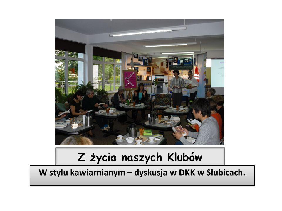 W stylu kawiarnianym – dyskusja w DKK w Słubicach.