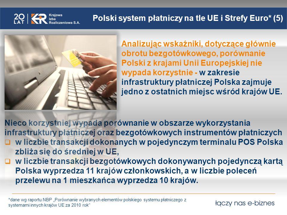 Polski system płatniczy na tle UE i Strefy Euro* (5)