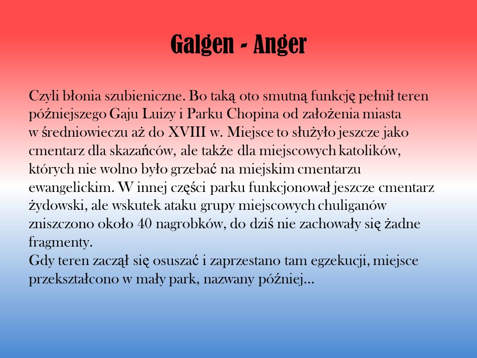 Galgen - Anger