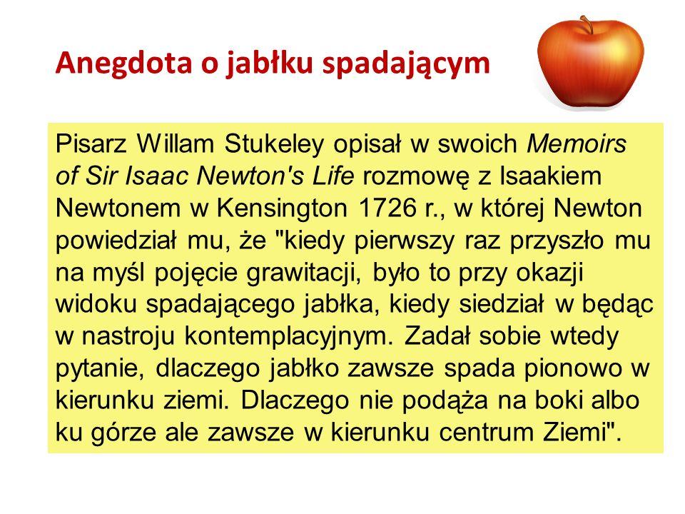 Anegdota o jabłku spadającym