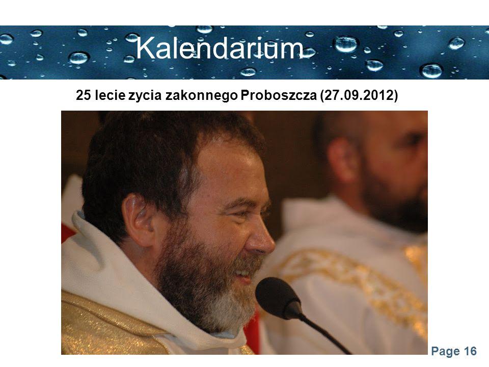 25 lecie zycia zakonnego Proboszcza (27.09.2012)