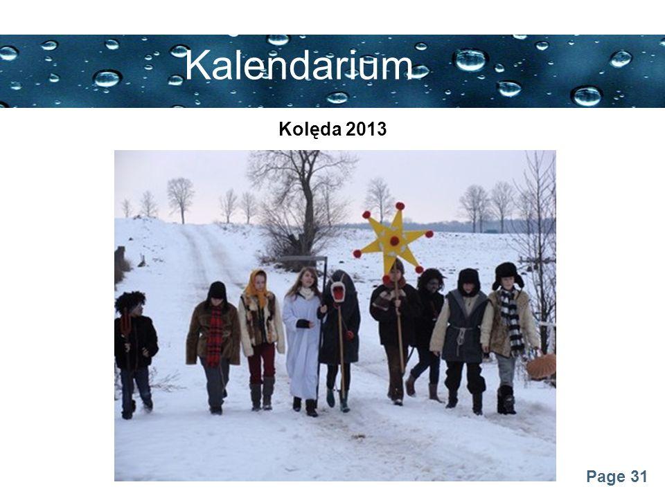 Kalendarium Kolęda 2013