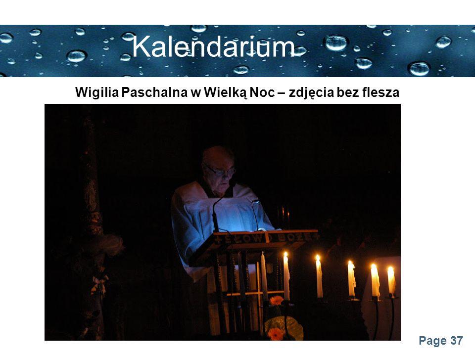 Wigilia Paschalna w Wielką Noc – zdjęcia bez flesza