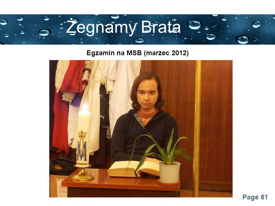 Egzamin na MSB (marzec 2012)