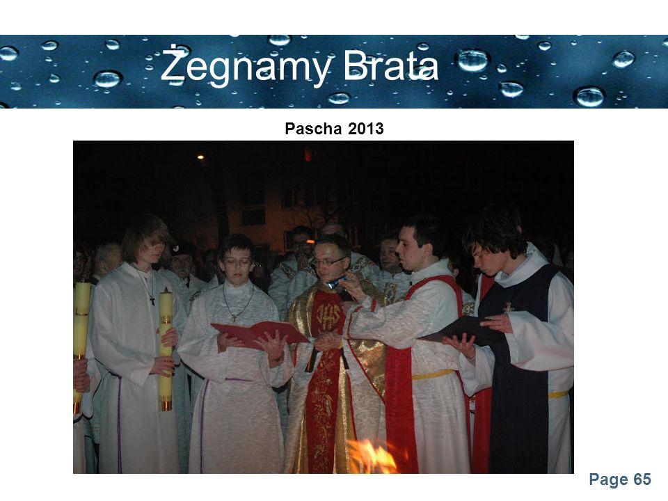Żegnamy Brata Pascha 2013