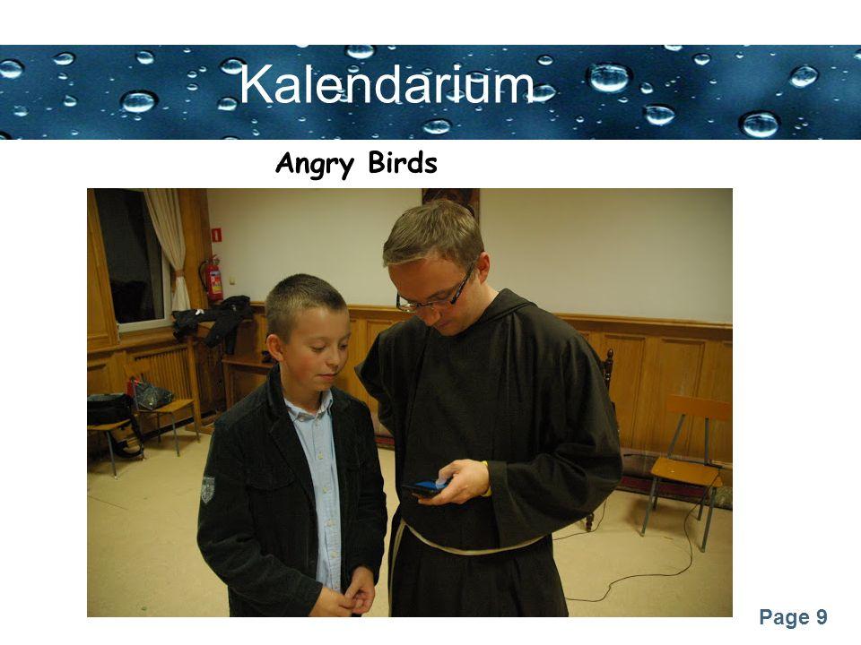 Kalendarium Angry Birds