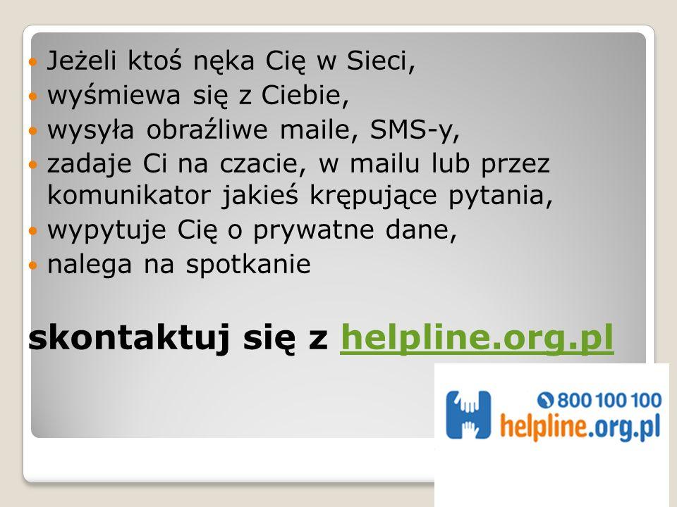 skontaktuj się z helpline.org.pl
