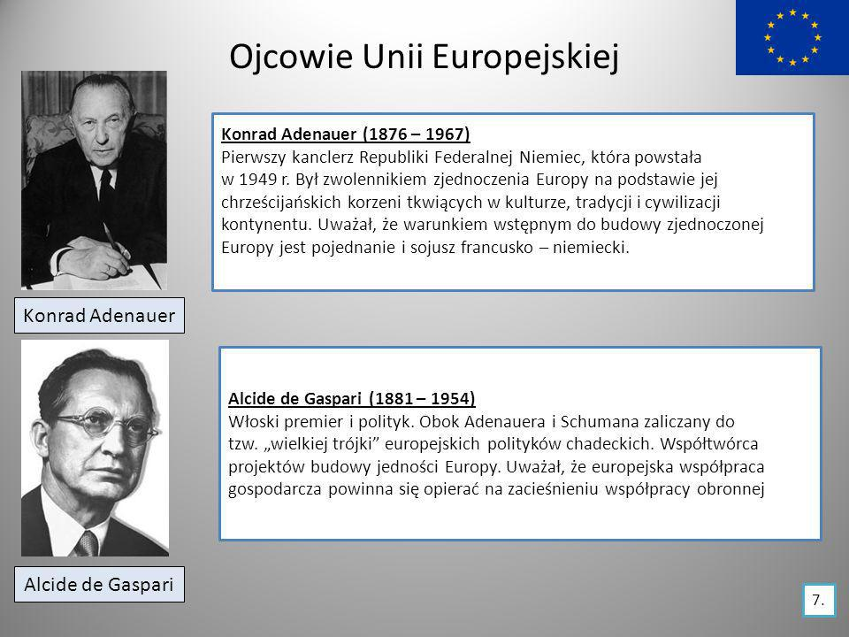 Ojcowie Unii Europejskiej