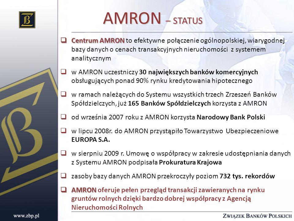 AMRON – STATUS