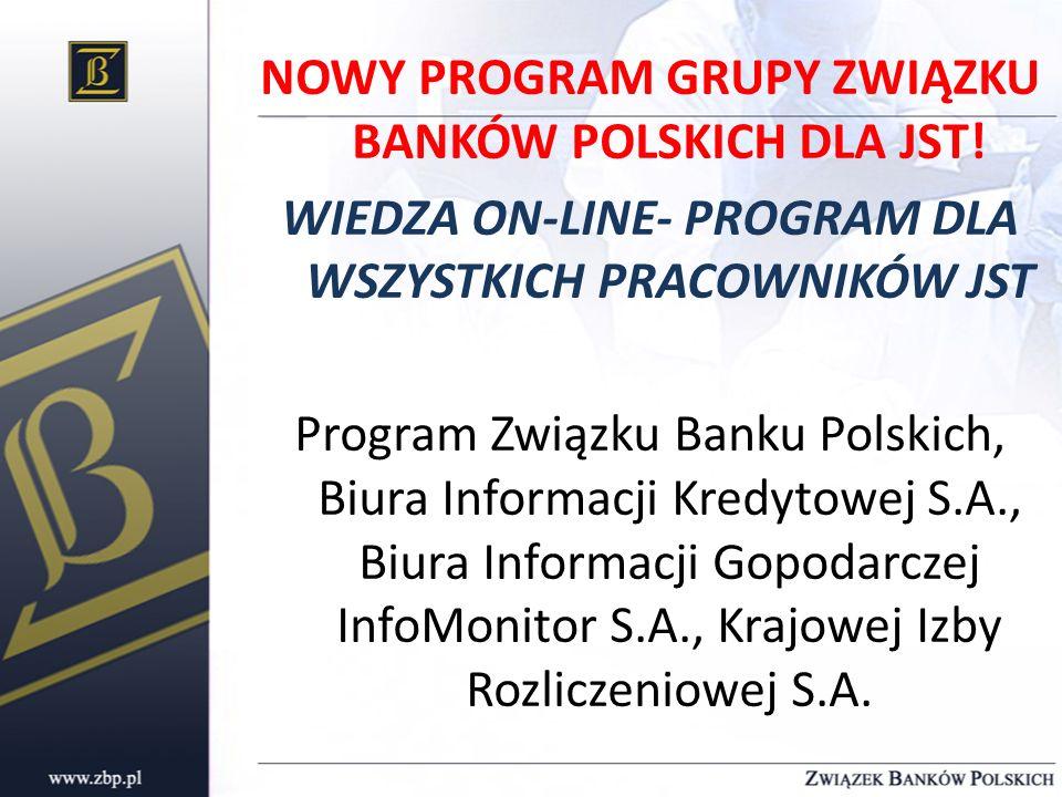 NOWY PROGRAM GRUPY ZWIĄZKU BANKÓW POLSKICH DLA JST
