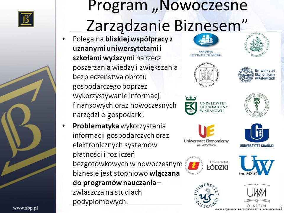 """Program """"Nowoczesne Zarządzanie Biznesem"""