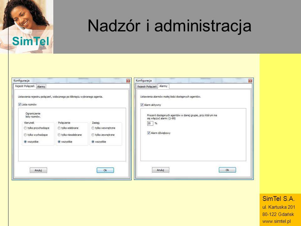 Nadzór i administracja