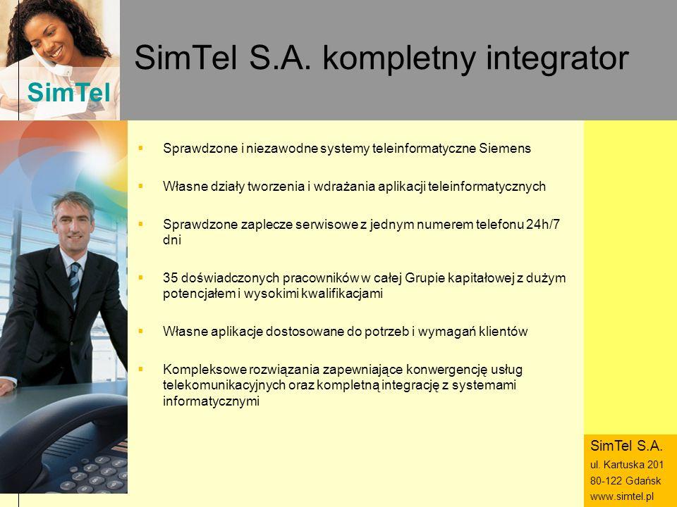 SimTel S.A. kompletny integrator