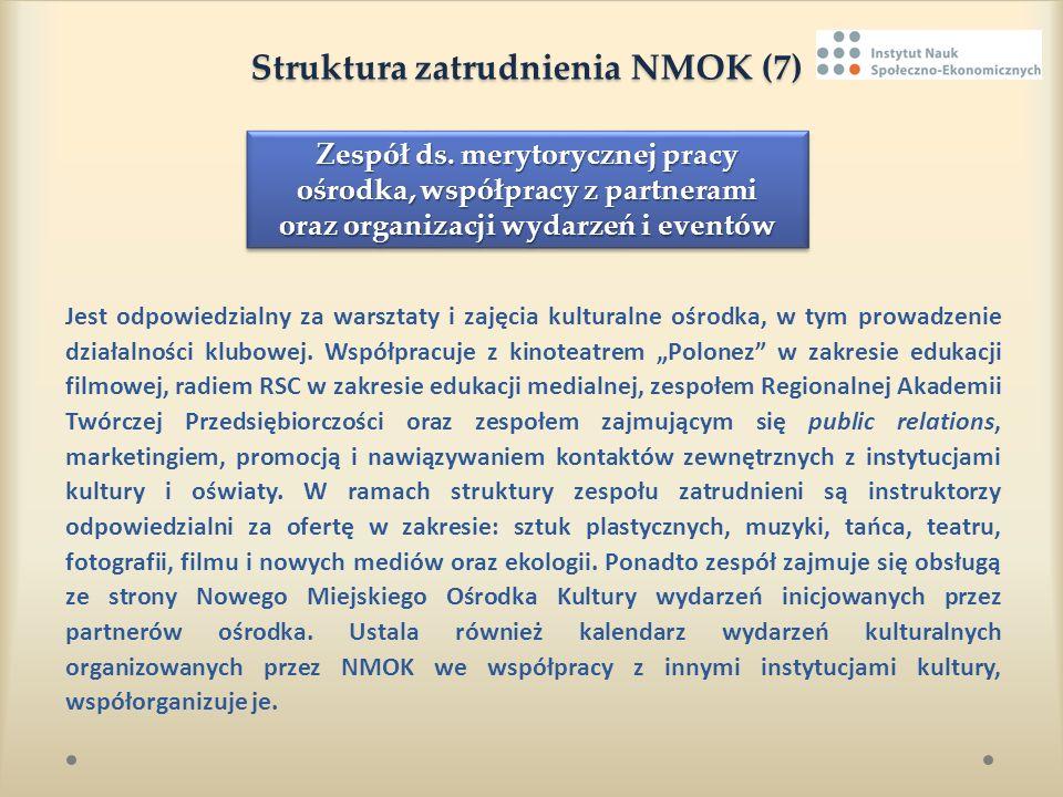 Struktura zatrudnienia NMOK (7)